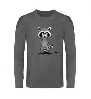 Frecher kleiner Waschbär - Unisex Long Sleeve T-Shirt-627