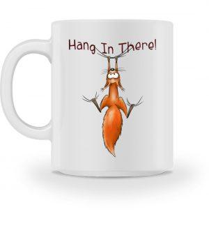 Hang In There | Lässiges Eichhörnchen - Tasse-3