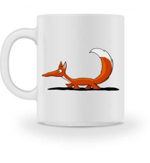 Lässiger cooler Fuchs | Mr. Fox, der Schleicher - Tasse-3