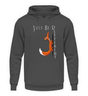 Just Be Different | Sei Anders, kleiner Fuchs - Unisex Kapuzenpullover Hoodie-1762