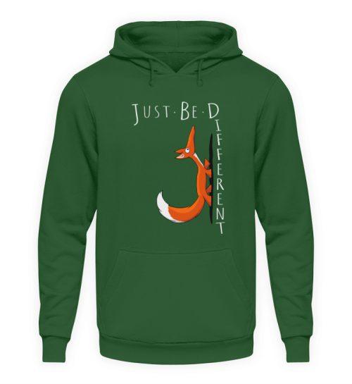 Just Be Different   Sei Anders, kleiner Fuchs - Unisex Kapuzenpullover Hoodie-833