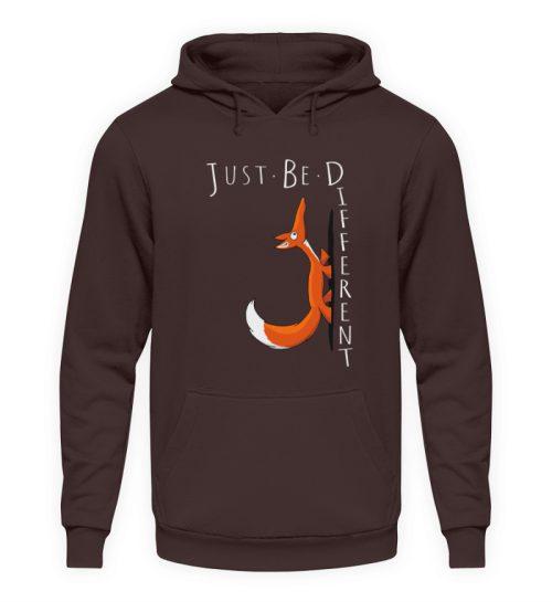 Just Be Different   Sei Anders, kleiner Fuchs - Unisex Kapuzenpullover Hoodie-1604