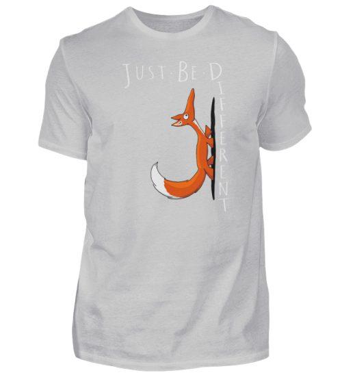 Just Be Different   Sei Anders, kleiner Fuchs - Herren Shirt-1157
