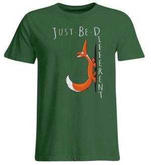 Just Be Different | Sei Anders, kleiner Fuchs - Übergrößenshirt-833