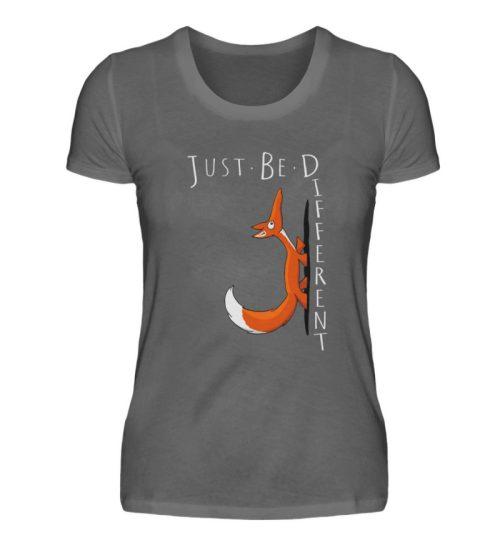 Just Be Different | Sei Anders, kleiner Fuchs - Damen Premiumshirt-627