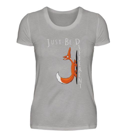 Just Be Different | Sei Anders, kleiner Fuchs - Damen Premiumshirt-2998