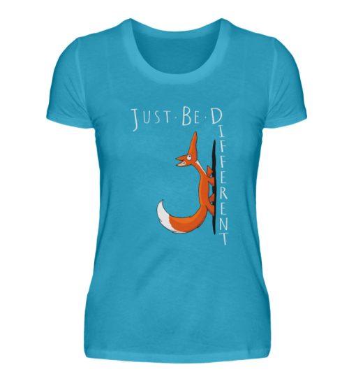 Just Be Different | Sei Anders, kleiner Fuchs - Damen Premiumshirt-3175