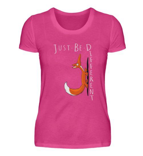 Just Be Different | Sei Anders, kleiner Fuchs - Damen Premiumshirt-28
