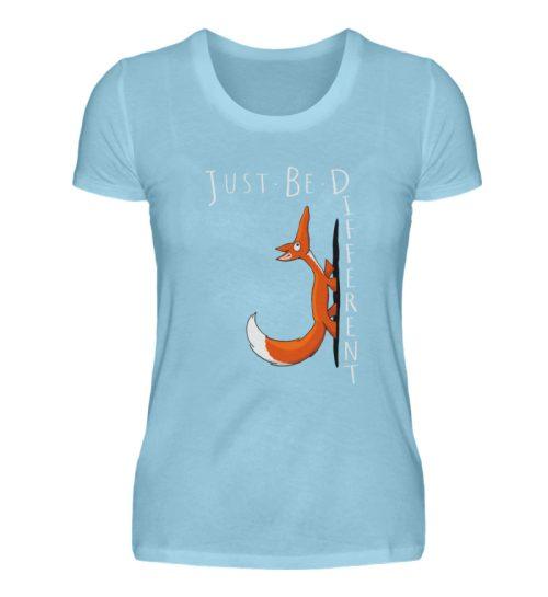 Just Be Different | Sei Anders, kleiner Fuchs - Damen Premiumshirt-674