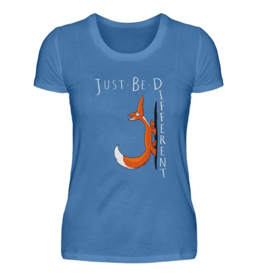 Just Be Different | Sei Anders, kleiner Fuchs - Damen Premiumshirt-2894
