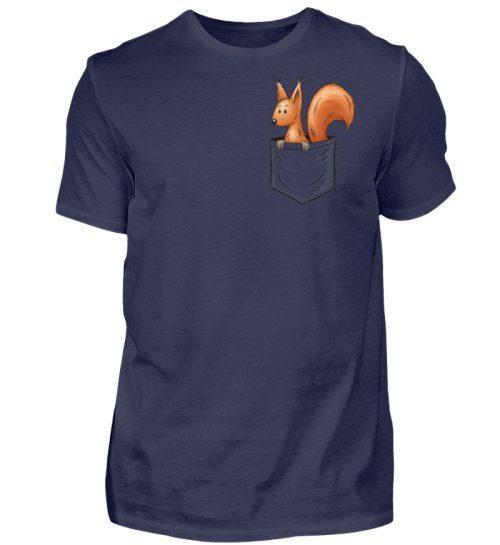 Lässiges Eichhörnchen In Tasche - Herren Shirt-198