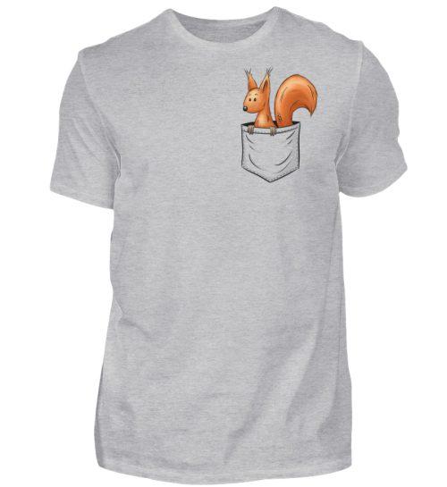 Lässiges Eichhörnchen In Tasche - Herren Shirt-17