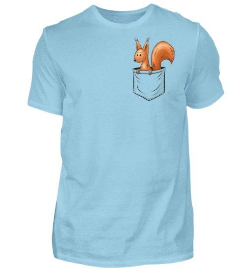 Lässiges Eichhörnchen In Tasche - Herren Shirt-674