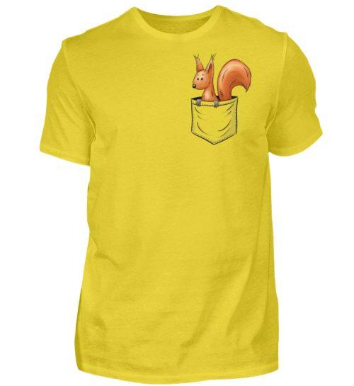 Lässiges Eichhörnchen In Tasche - Herren Shirt-1102