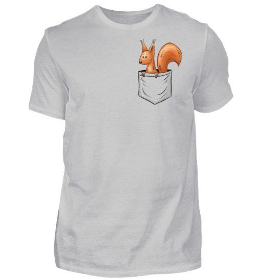 Lässiges Eichhörnchen In Tasche - Herren Shirt-1157