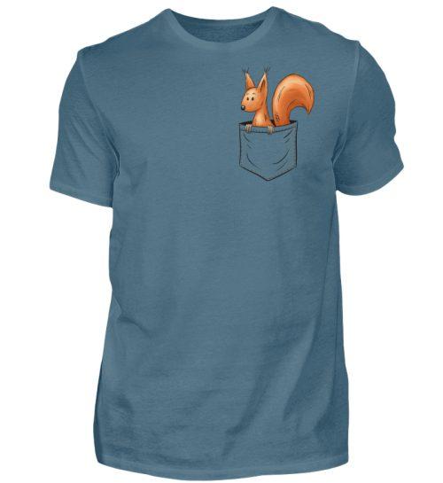 Lässiges Eichhörnchen In Tasche - Herren Shirt-1230