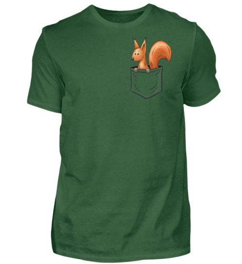 Lässiges Eichhörnchen In Tasche - Herren Shirt-833