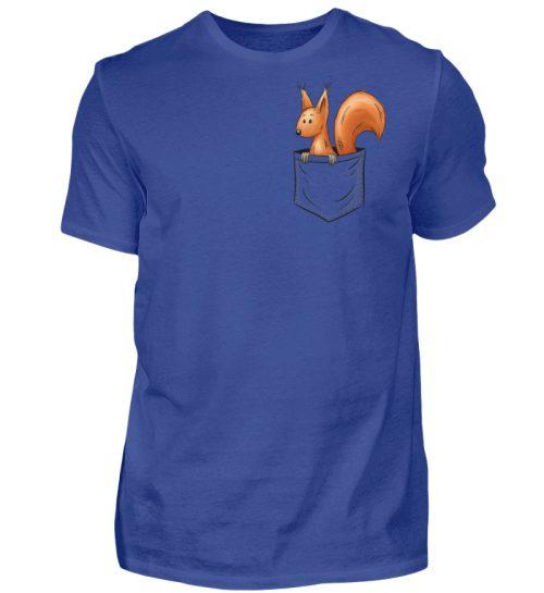 Lässiges Eichhörnchen In Tasche - Herren Shirt-668
