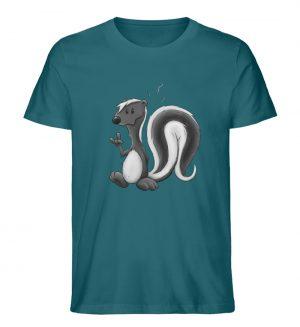 Lustig stinkiges Stinktier - Herren Premium Organic Shirt-6889