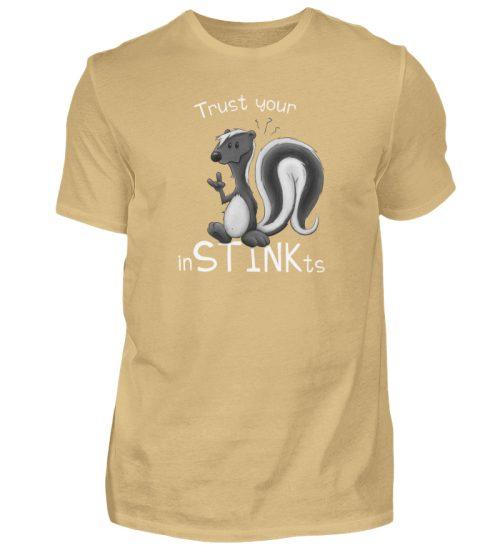 Trust Your inSTINKts Stinktier Humor - Herren Shirt-224