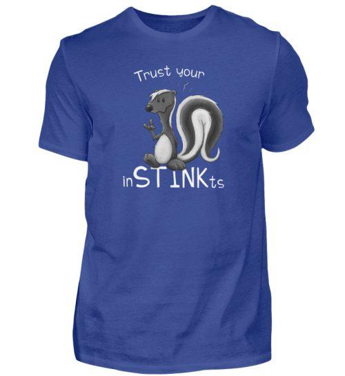 Trust Your inSTINKts Stinktier Humor - Herren Shirt-668