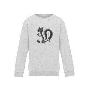 Lustig stinkiges Stinktier - Kinder Sweatshirt-6892