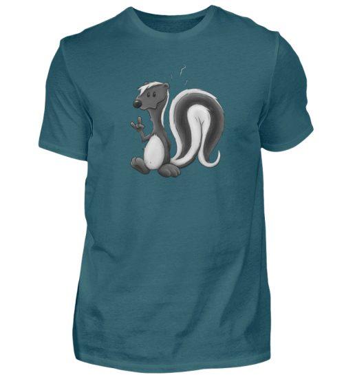 Lustig stinkiges Stinktier - Herren Shirt-1096