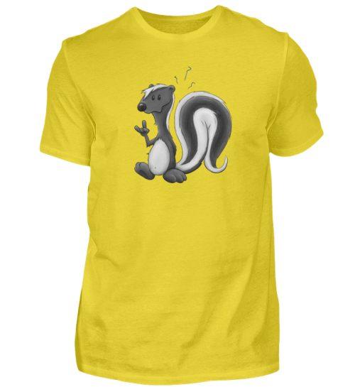 Lustig stinkiges Stinktier - Herren Shirt-1102