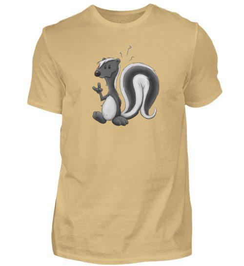 Lustig stinkiges Stinktier - Herren Shirt-224