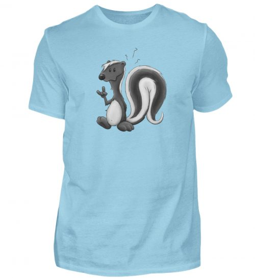 Lustig stinkiges Stinktier - Herren Shirt-674
