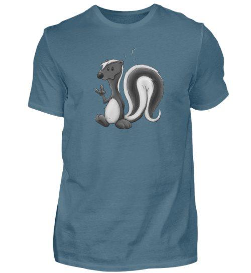 Lustig stinkiges Stinktier - Herren Shirt-1230