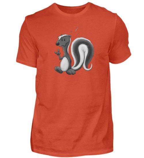 Lustig stinkiges Stinktier - Herren Shirt-1236