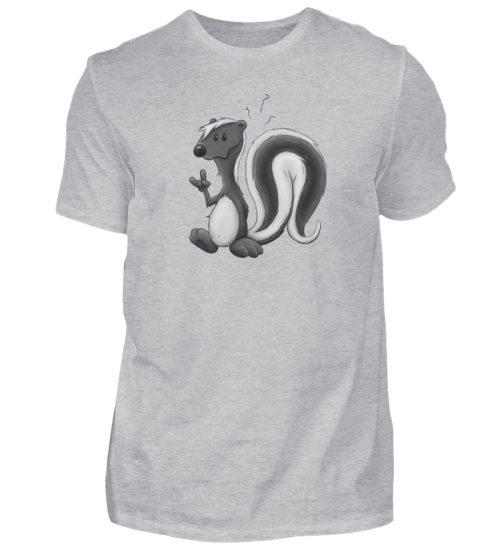 Lustig stinkiges Stinktier - Herren Shirt-17