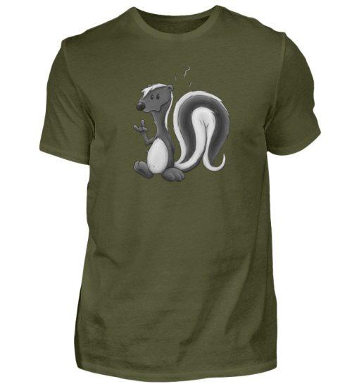 Lustig stinkiges Stinktier - Herren Shirt-1109