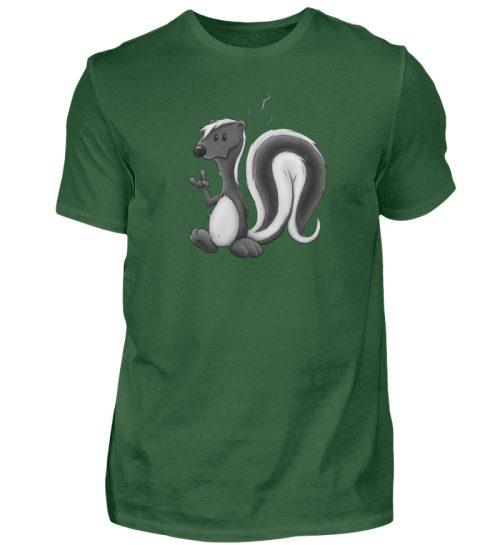 Lustig stinkiges Stinktier - Herren Shirt-833
