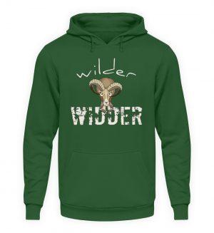 Wilder Widder | Mufflon Cooles Wild-Schaf - Unisex Kapuzenpullover Hoodie-833