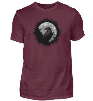 Schwarzer Rabe bei Vollmond - Herren Shirt-839