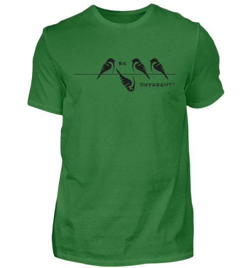 Sei anders, Kleiner Spatz - Herren Shirt-718