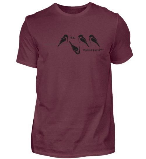 Sei anders, Kleiner Spatz - Herren Shirt-839