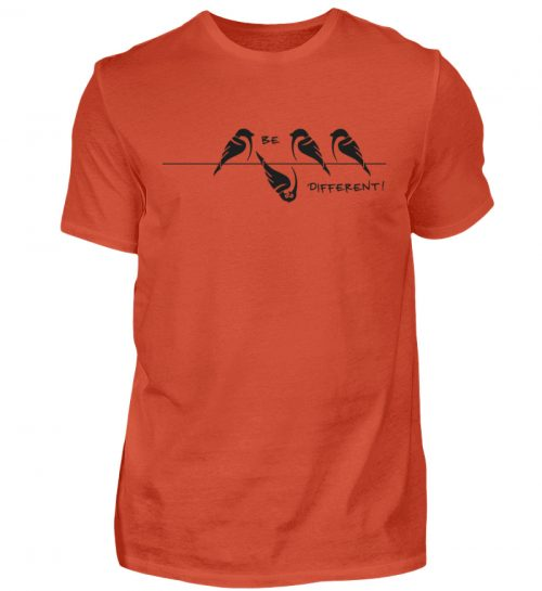 Sei anders, Kleiner Spatz - Herren Shirt-1236