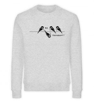 Sei anders, Kleiner Spatz - Unisex Organic Sweatshirt-6892