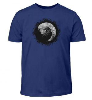 Schwarzer Rabe bei Vollmond - Kinder T-Shirt-1115