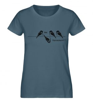 Sei anders, Kleiner Spatz - Damen Premium Organic Shirt-6895