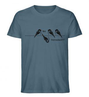 Sei anders, Kleiner Spatz - Herren Premium Organic Shirt-6895