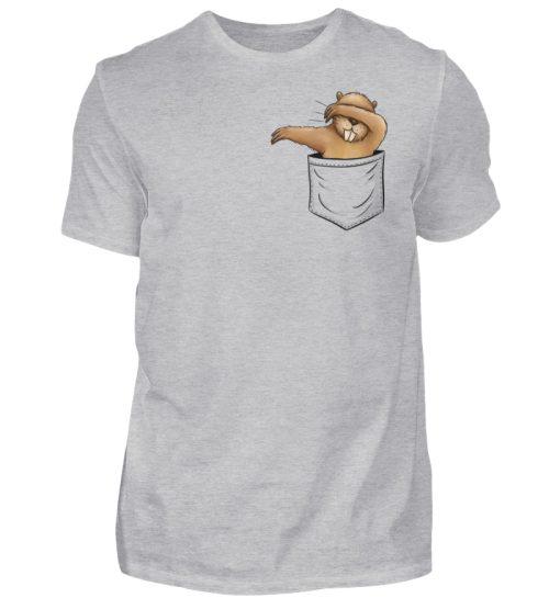 Dabbender Biber in Deiner Tasche - Herren Shirt-17