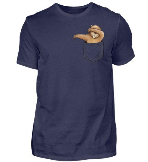 Dabbender Biber in Deiner Tasche - Herren Shirt-198