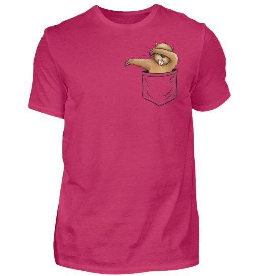 Dabbender Biber in Deiner Tasche - Herren Shirt-1216