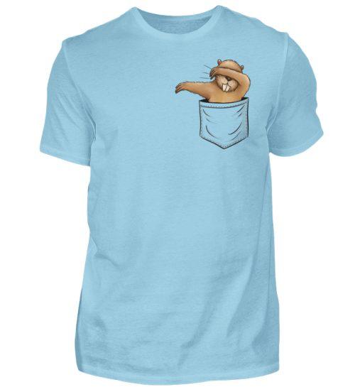 Dabbender Biber in Deiner Tasche - Herren Shirt-674