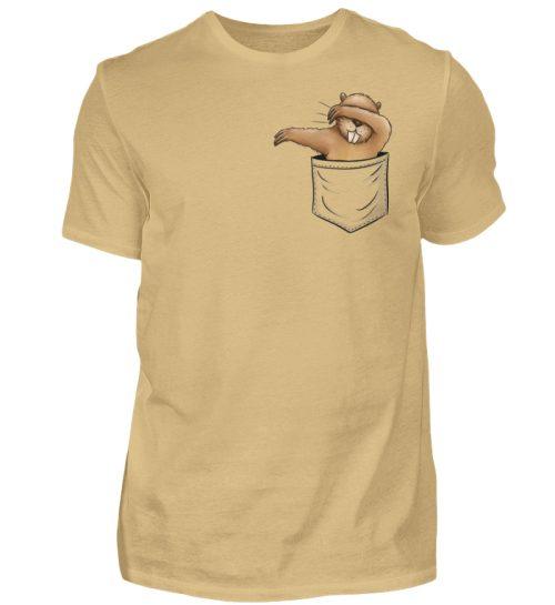 Dabbender Biber in Deiner Tasche - Herren Shirt-224