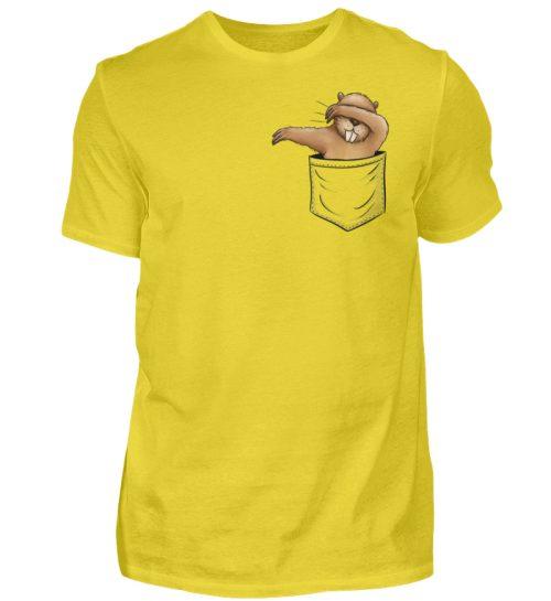 Dabbender Biber in Deiner Tasche - Herren Shirt-1102